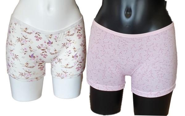 6 Stück Damen Boxershorts Unterwäsche Unterhosen Sport Baumwolle 5001